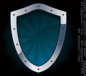 blue,defence,defend,defender,glass,gray,guard,guardian,icon,illustration,iron,metal,metallic,protect,protection,protective,reliability,safe,safeguard,safety,security,shield,sign,solid,steel,strong,symbol