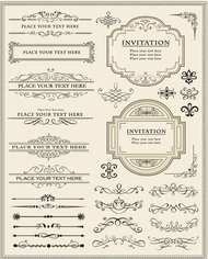 element,ornamental,vintage