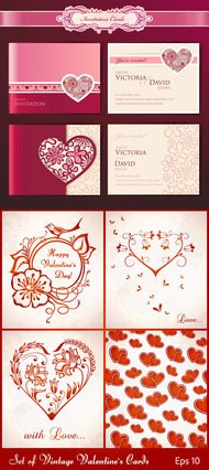 background,bright,card,day,happy,holiday,invitation,love,red,sample,text,valentine,vintage