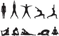 beauty,body,exercise,health,india,karma,mantra,meditation,silhouette,stretch,tranquillity