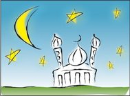 aidil,background,eid,islamic,moon,mosque,mubarak,ramadan,ramadhan,religion,star,twinkle