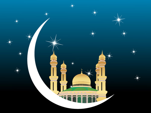 Mosques Vector Graphic Clip Arts Art