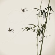 background,bamboo,bird,branch,brush,calligraphy,china,chinese,culture,elegance,green,growth,happiness,illustration,ink,japan,japanese,leaf,lush,nature,oriental,painting,retro,spring,style,swallow,traditional,traditionally,tree