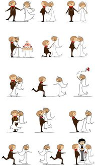 board,bridal,bride,bridegroom,card,cartoon,celebrate,celebration,ceremony,character,comic,couple,cute,devotion,doodle,drawing,dress,female,flower,girl,graphic,groom,happy,heart,holding,husband,icon,illustration,invitation,isolated,love,male,marriage,marry,newlywed,proposal,romance,romantic