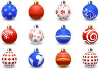 ball,christmas,collection,colorful,happy,ornament,ornamental,set,xmas