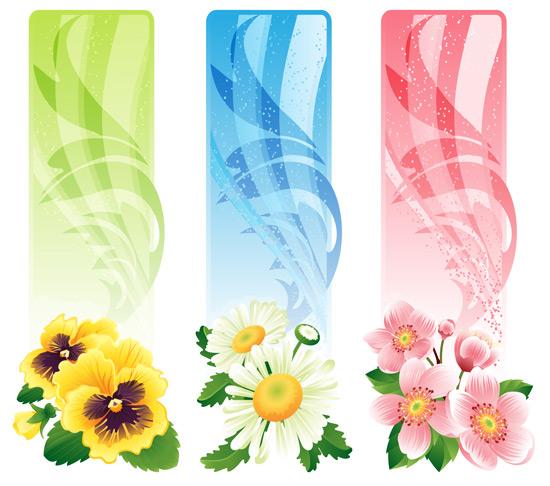 clipart floral banner - photo #30