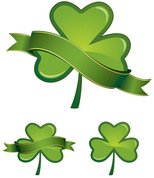 banner,clover,day,floral,four,glossy,green,icon,illustrator,ireland,irish,leaf,lucky,patrick,plant,saint,shamrock,shiny,st,st patrick,symbol,three,traditional