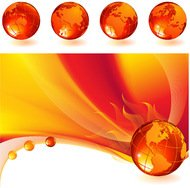 abstract,background,burning,different,fire,globe,line,orange,red,world,yellow