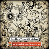 background,decorative,floral,flourish,hand-drawn,ornament,swirl