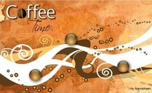 abstract,advertising,background,brochure,coffee,bean,illustration,illustrator,marketing,poster,ribbon