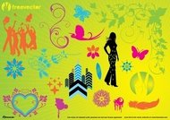 abstract,animal,arrow,art,background,bulb,bunny,butterfly,butterfly vector,circle,computer,computer graphic,decoration,design element,floral,fly,free vector,girl