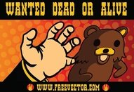 wanted,cartoon,pedobear,animation,bear,cartoon