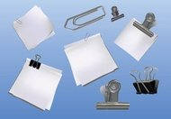clipboard,fastener,note,notepad,metal,paper,office,supply
