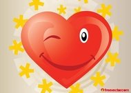 cartoon,character,cheerful,comic,cute,emoticon,emotion,expression,face,flirt,fun,happy,heart,holiday,icon,love