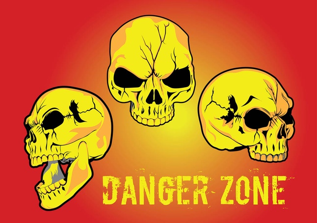 Danger Zone Vector clip arts, free clipart - ClipartLogo.com