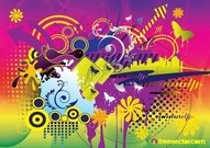 arrow,background,badge,circle,colorful,color,composition,theme,flower,fun,joy,rainbow,spring,summer,art