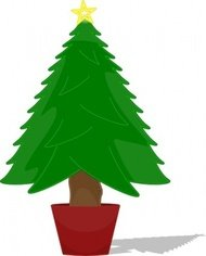 Christmas Tree Outline Clip Art Download 1 000 Clip Arts Page 1  - Christmas Tree Outlines