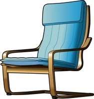 armchair,chair,furniture,ikea,cantilever,poang,media,clip art,public domain,image,png,svg