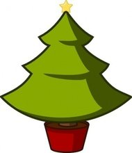 christmas,tree,seasonal,holiday,media,clip art,public domain,image,png,svg