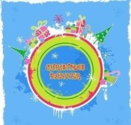 cute,candy,colored,christmas,banner