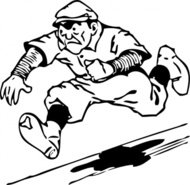 running,home,cartoon,sport,baseball,runner,media,clip art,externalsource,public domain,image,png,svg