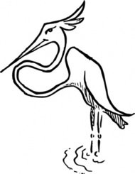 stork,cartoon,caricature,animal,bird,media,clip art,externalsource,public domain,image,svg