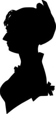 lady,silhouette
