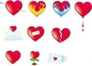 valentine,heart,icon,aflame,bleeding,broken,bandaged,love,note