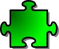 green,jigsaw,puzzle,game,shape,media,clip art,public domain,image,png,svg