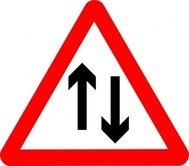 road,sign,roadsign,attention,arrow,up,down