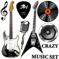 musical,equipment,music,guitar,electric,vinyl,microphone,recording,scale,pick,speaker