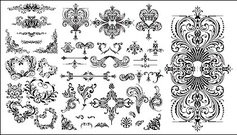 variety,practical,european,style,lace,pattern,material,floral,flower,heart,nature,ornamental,shape,silhouette