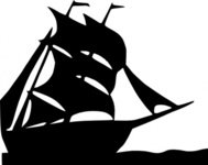 sailing,boat,silhouette