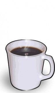 jturner,cuppa,colour,food,coffee,hot,steaming,mug,media,clip art,public domain,image,png,svg,photorealistic