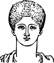 grecian,hair,dressing,hairdressing,head,greece,ancient,person,greek,media,clip art,externalsource,public domain,image,png,svg