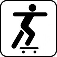 person,sliding,skate,board
