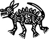 ancient,mexico,motif,dog,art,media,clip art,externalsource,public domain,image,png,svg