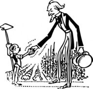 uncle,shake,farmer,hand,farm,farming,uncle sam,patriotic,america,crop,cartoon