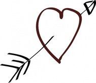 valentine,heart,arrow,cartoon,collection,rose,love,god,sleep,baby