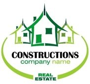 real,estate,company,logo