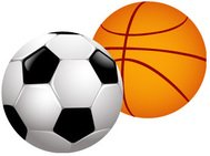 sport,football,basketball,equipment,black,white,brown