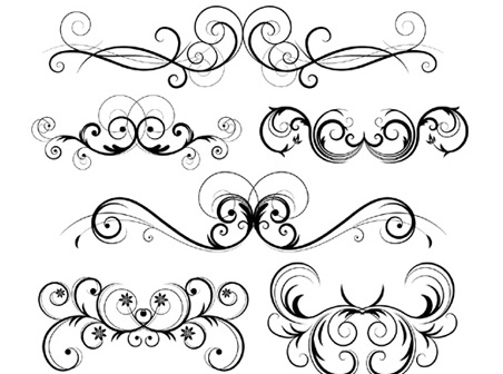 swirl design template