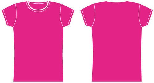 Real people tshirt template joy studio design gallery for Pink t shirt template