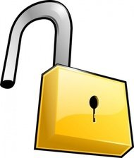 open,lock,security,padlock,locked,unlocked,media,clip art,public domain,image,png,svg