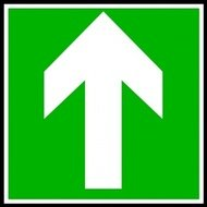 directional,sign,continue,straight