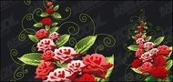 rose,decorative,pattern,material