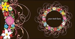lovely,rosette,trend,vector