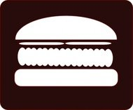 hamburger,icon,burger,food,fast food,lunch,media,clip art,public domain,image,svg