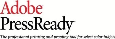 adobe,pressready,logo