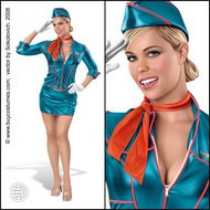 pin,stewardess